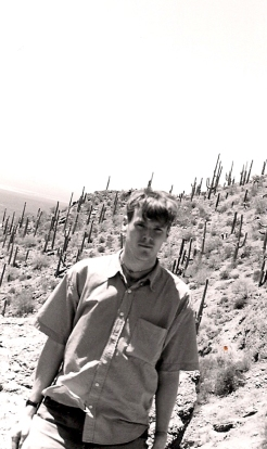The author, faking it in Tucson, 1999.